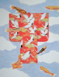 Kimono and Koi